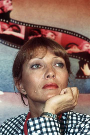 Stéphane Audran, en mayo de 1978, en el festival de Cannes.