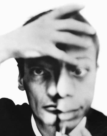 Autorretrato con James Baldwin, septiembre, 1964