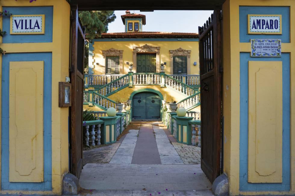 Villa Amparo, en Rocafort, Valencia, donde Machado vivió y escribió entre diciembre de 1936 y abril de 1938.