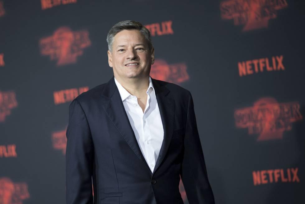El director de contenidos de Netflix, Ted Sarandos.