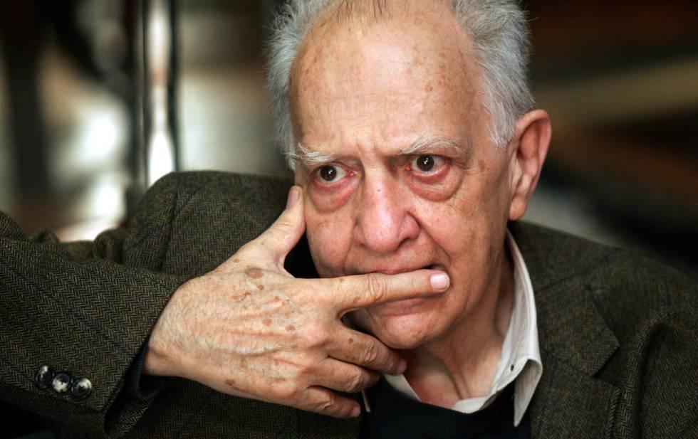 Sergio Pitol, durante una entrevista en 2005.