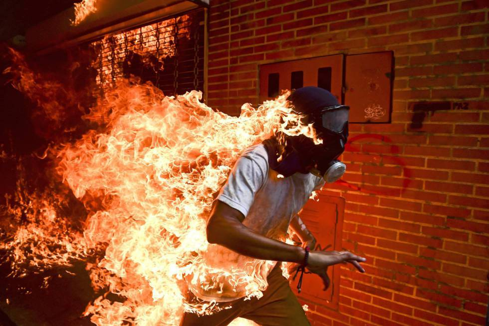 Fotografía ganadora del World Press Photo.