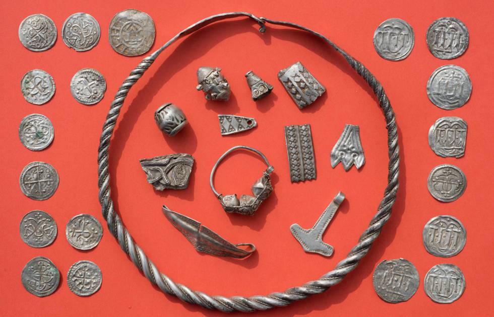 Piezas pertenecientes al rey danés Harald Bluetooth.