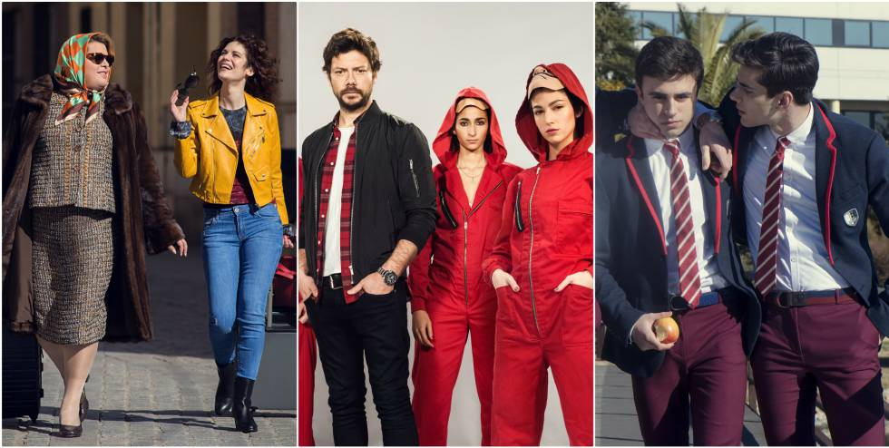 04f1b51b8c8a Money Heist  Netflix luce en Roma sus series españolas