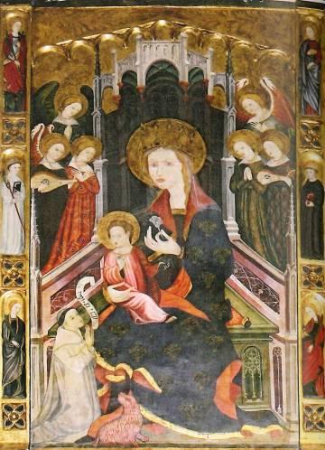 Copia de Santa Maria de los Ángeles que está en Santa María de Bulbuente.