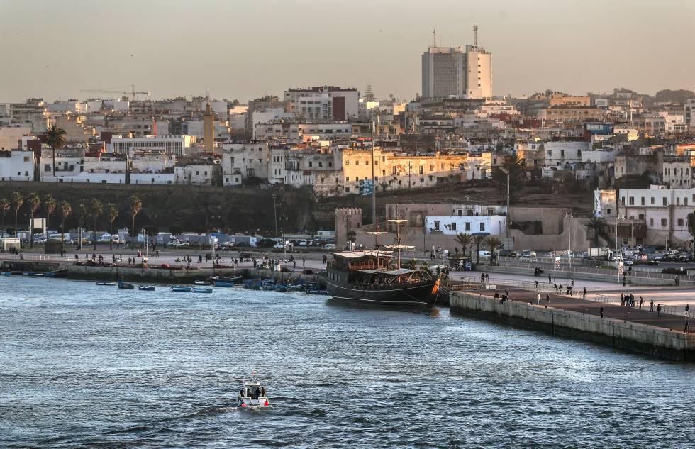 Panorámica de Rabat.