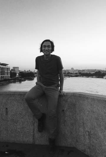 El escritor Paul Yoon en Londres.