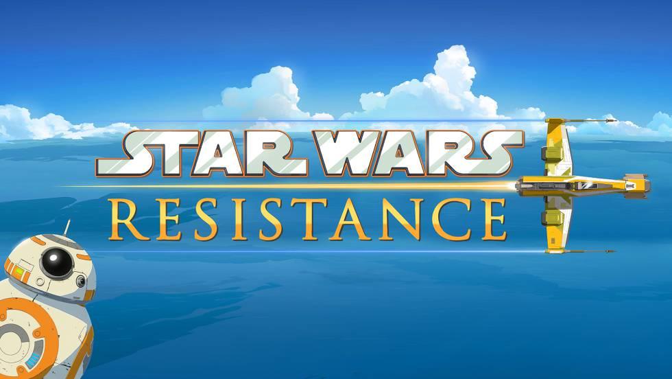 Cartel de 'Star Wars Resistance'.