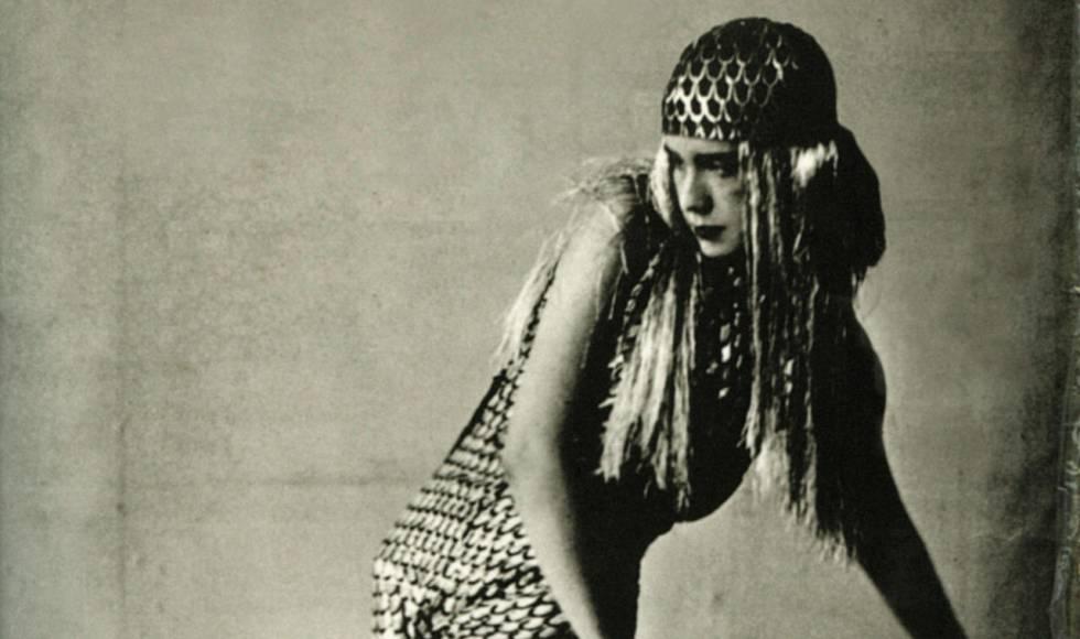 Lucia Joyce, durante una actuación en París en 1929.