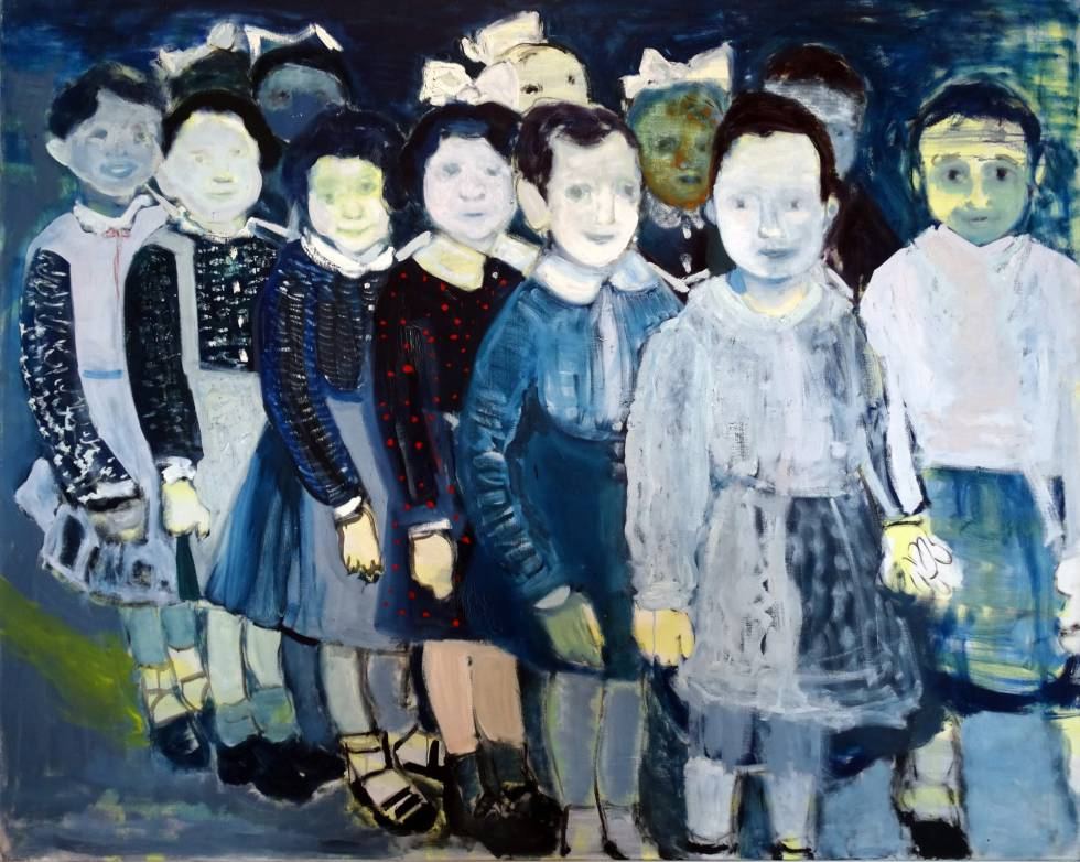 'The Turkish Schoolgirls' (1987), obra de Marlene Dumas.