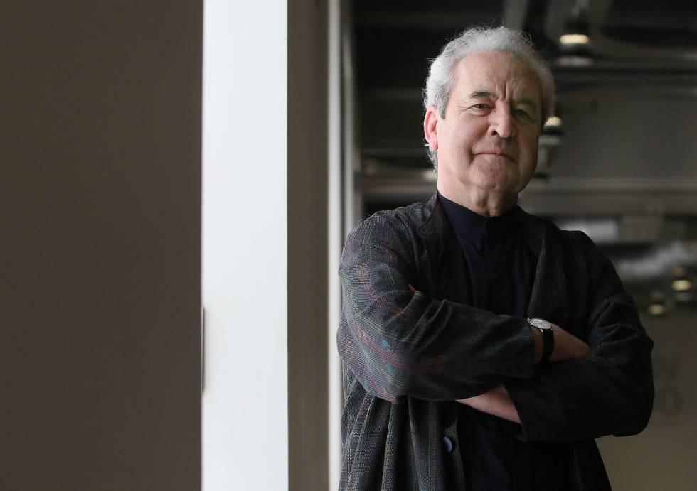 El escritor John Banville, fotografiado ayer en Madrid. rn