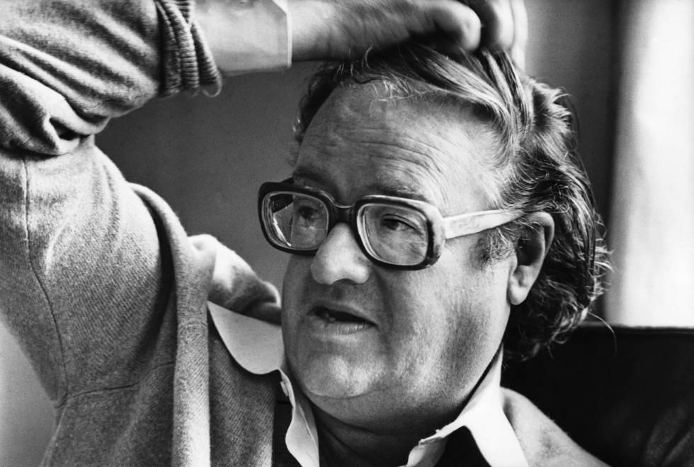 John Mortimer en 1977.