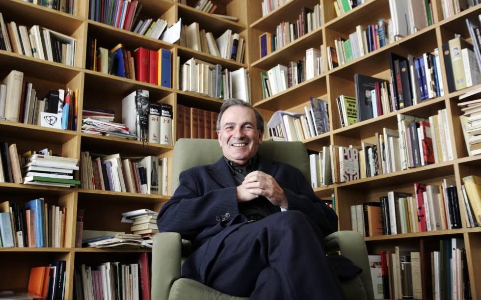 El poeta José-Miguel Ullán, en 2008.