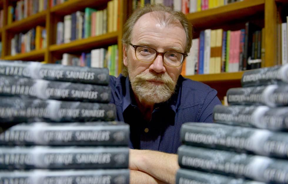 El escritor George Saunders, en una librería de Florida en febrero de 2017.