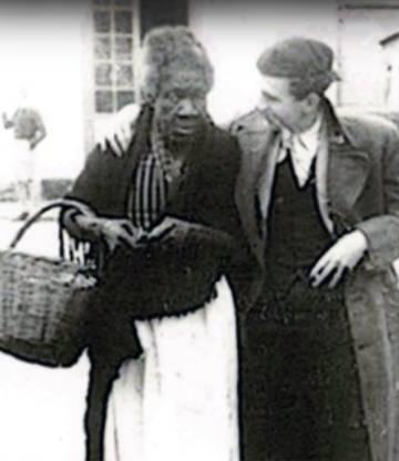 Cándida 'La Negra' en una imagen de archivo.