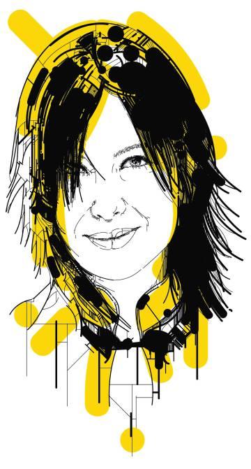 La dibujante Mamen Moreu.