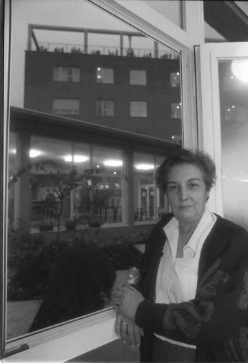 Ana María Pérez del Campo, en el centro de reinserción de mujeres maltratadas que acababa de abrir en 1991.