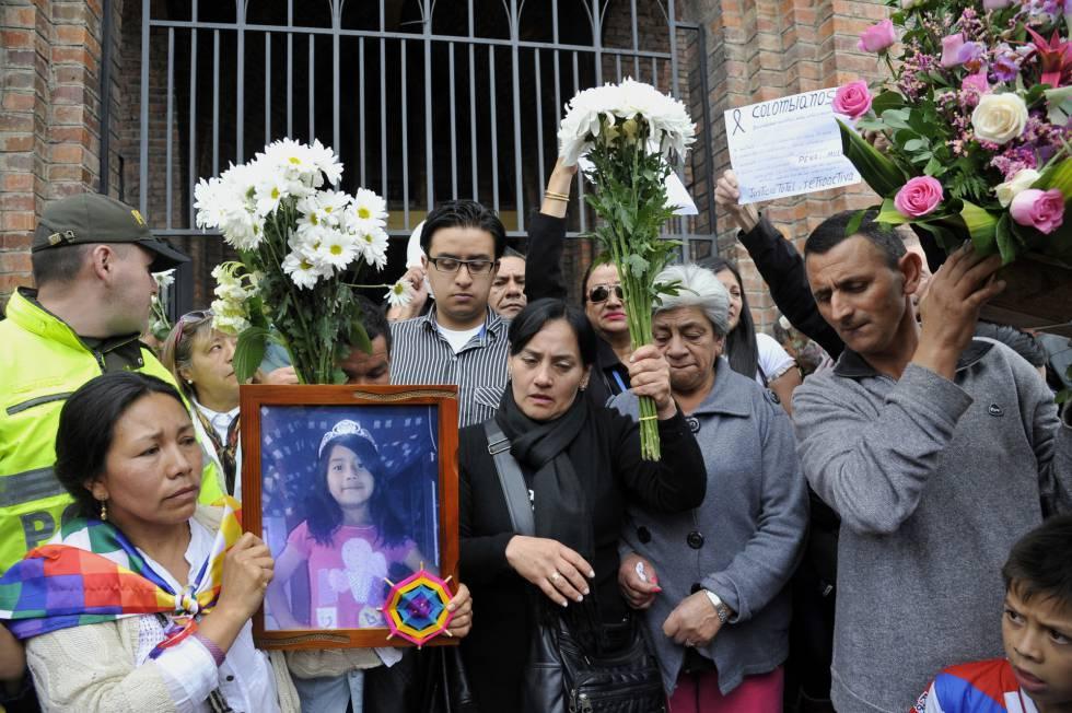 Familiares de Yuliana piden justicia en 2016.