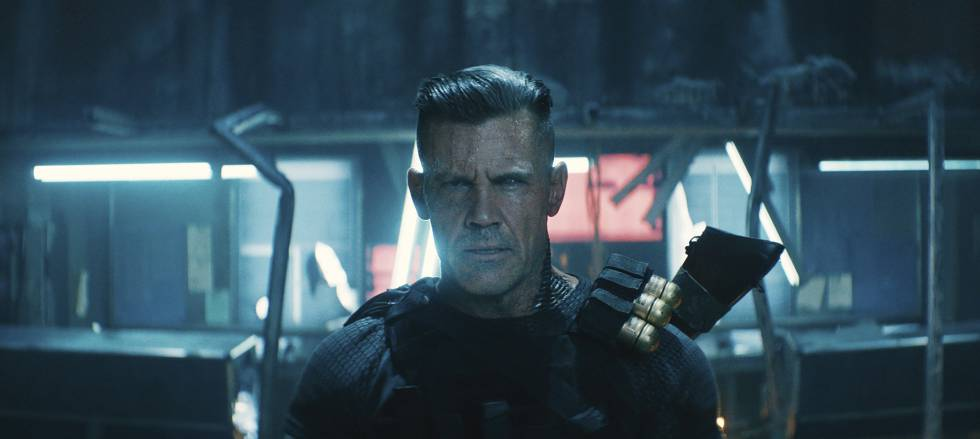 Josh Brolin como Cable en 'Deadpool 2'.