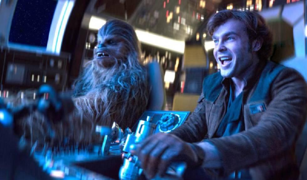Fotograma de la película 'Han Solo: Una historia de Star Wars'.