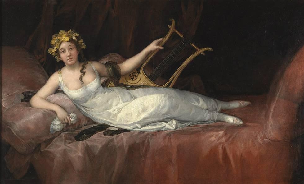 'La marquesa de Santa Cruz' (1805), de Goya.