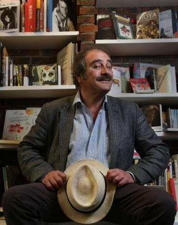 El escritor Rafael Reig, en la librería Alberti, de Madrid, el pasado 9 de mayo.