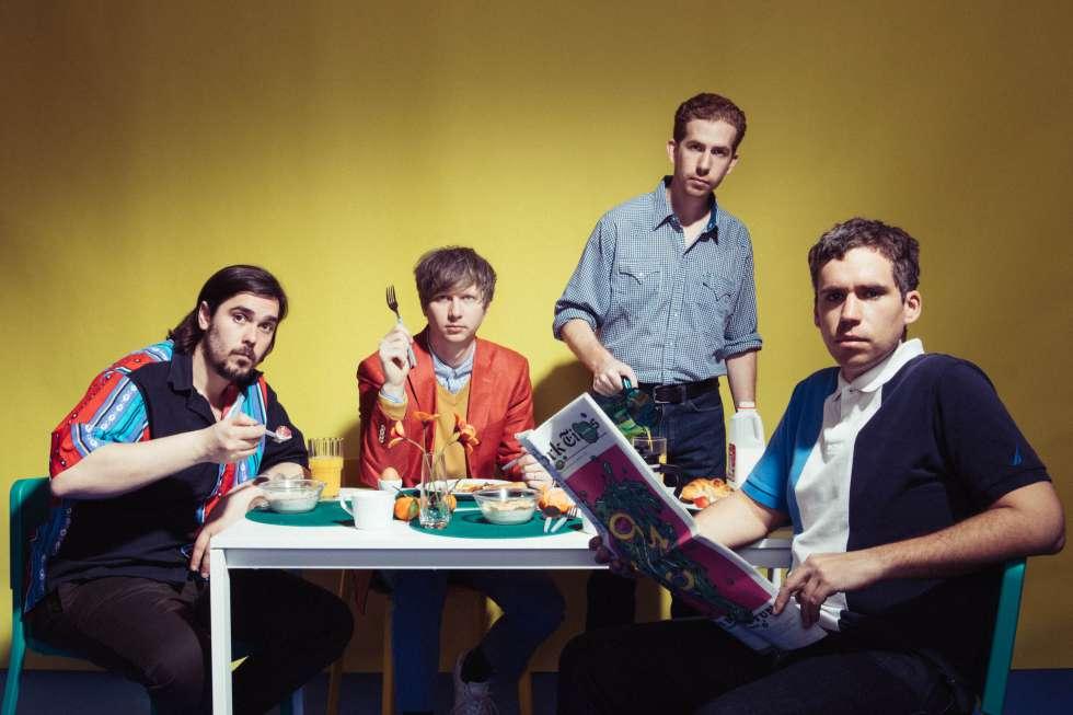 Los miembros de Parquet Courts, en una imagen promocional.
