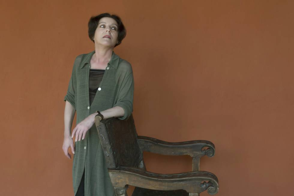 La escritora Herta Müller, en Cartagena de Indias en 2017.