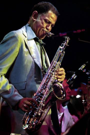 Dexter Gordon, en un concierto en 1970.