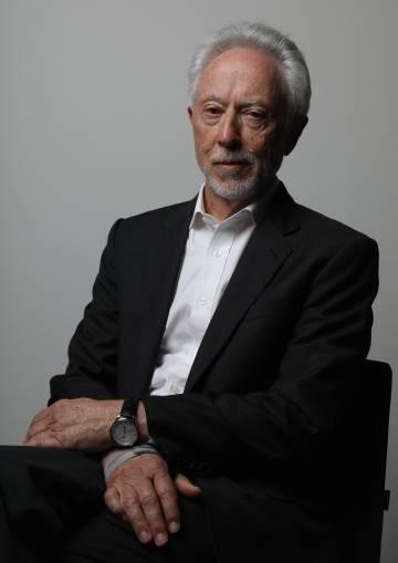 El premio novel de literatura sudafricano John Maxwell Coetzee, este sábado en Madrid.