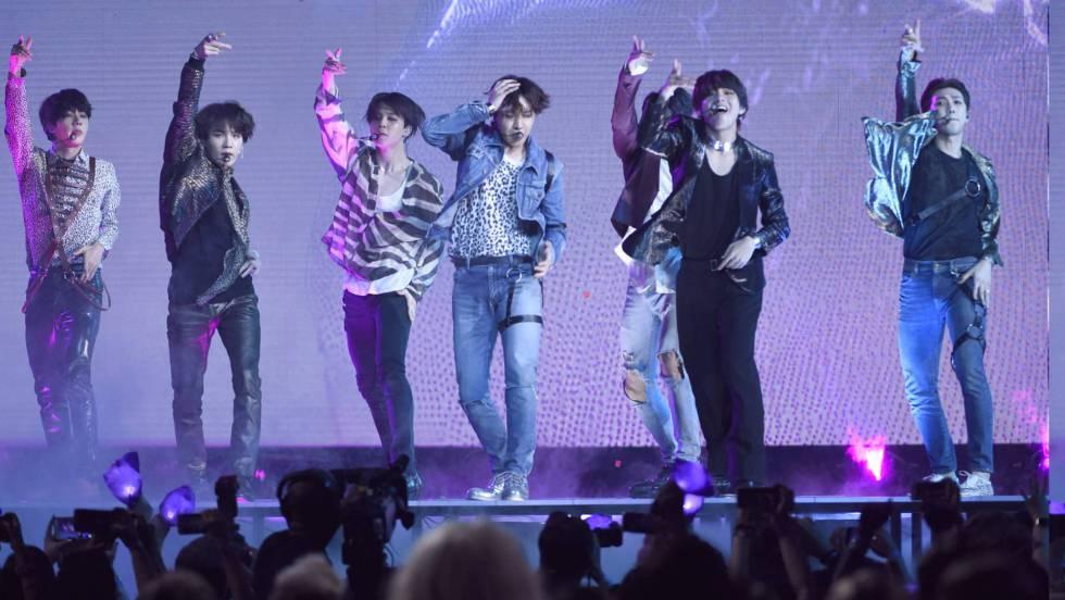Un grupo de pop coreano alcanza por vez primera el 'número 1' en la listas de ventas estadounidenses