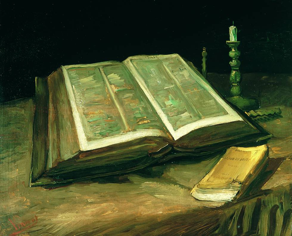 'Still Life With Bible'. Vincent van Gogh. 1885.
