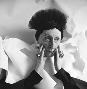Edith Sitwell, retratada en 1962.