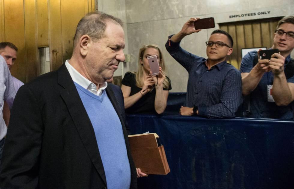 Harvey Weinstein, en la corte penal de Nueva York la semana pasada.