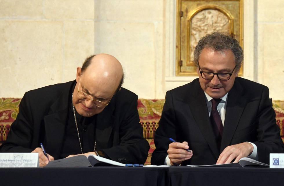 PRISA firma un convenio para difundir el VIII centenario de la catedral de Burgos