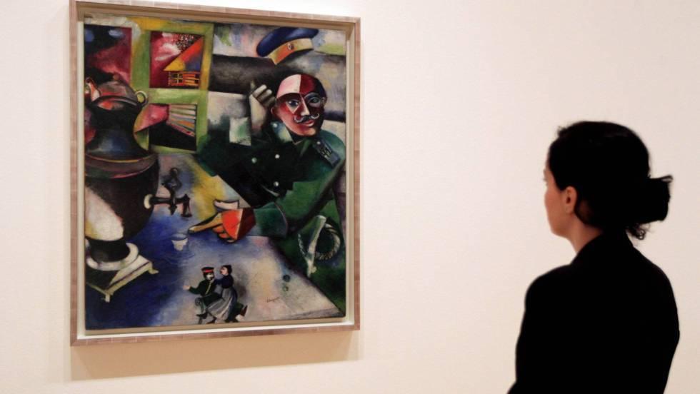 Alegorías y metáforas de Chagall en el Guggenheim