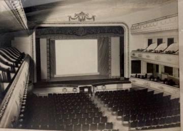 La platea y los palcos del cine Metropol, en el año 1930.