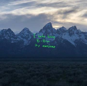 Carátula del álbum 'YE', de Kanye West.