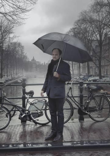 Jeffrey Eugenides en Ámsterdam.