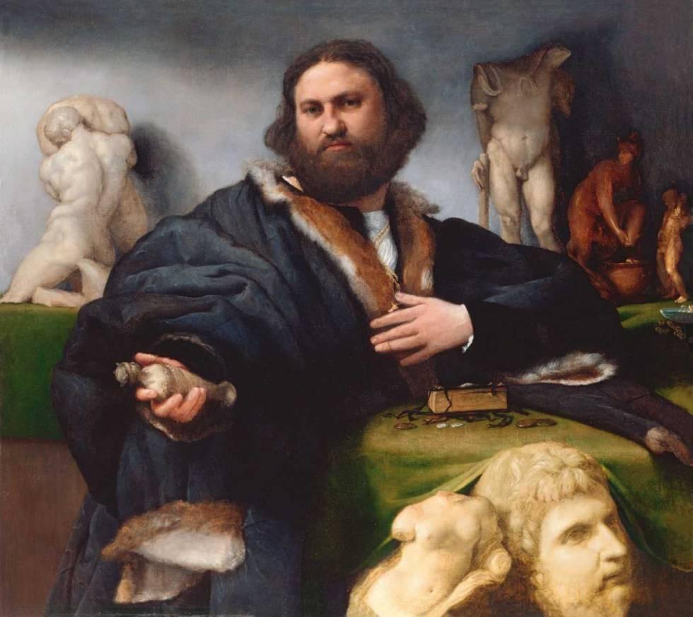 'Retrato de Andrea Odoni' (1527), de Lorenzo Lotto.