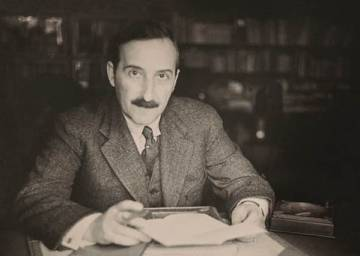 Stefan Zweig en una imagen sin datar.