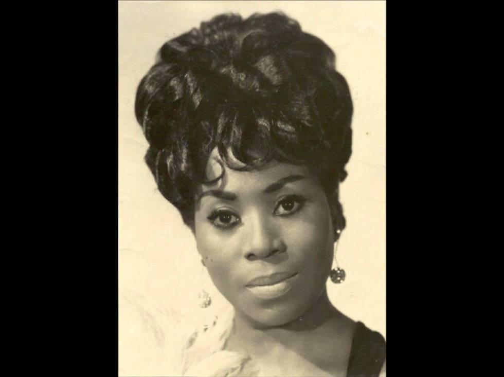 Xiomara Alfaro, en una foto para la portada de un disco.