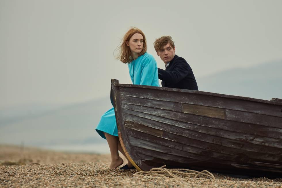 Resultado de imagen de En la playa de Chesil de Dominic Cooke