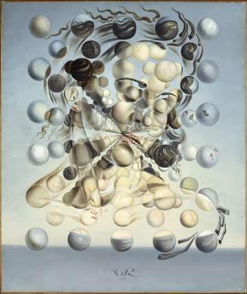 'Gala Placidia. Galatea de las esferas' (1952), de Dalí.