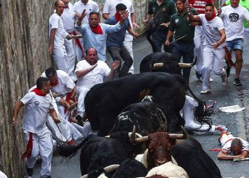 Watch: Day 1 of Running of the Bulls in Pamplona sees one goring, three injured