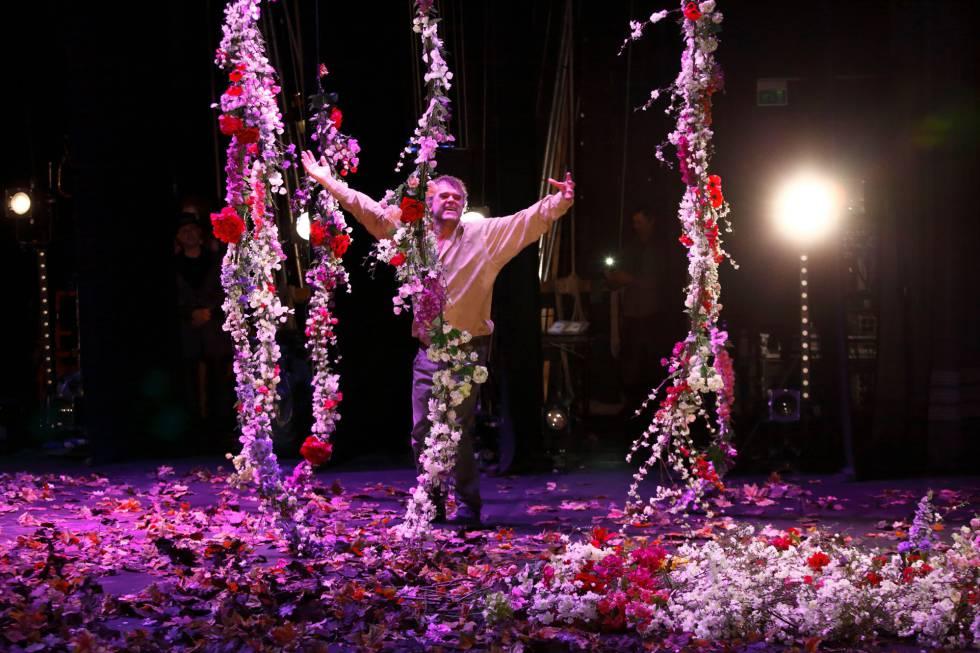 Pippo Delbono, en una imagen de su espectáculo 'La gioia'.