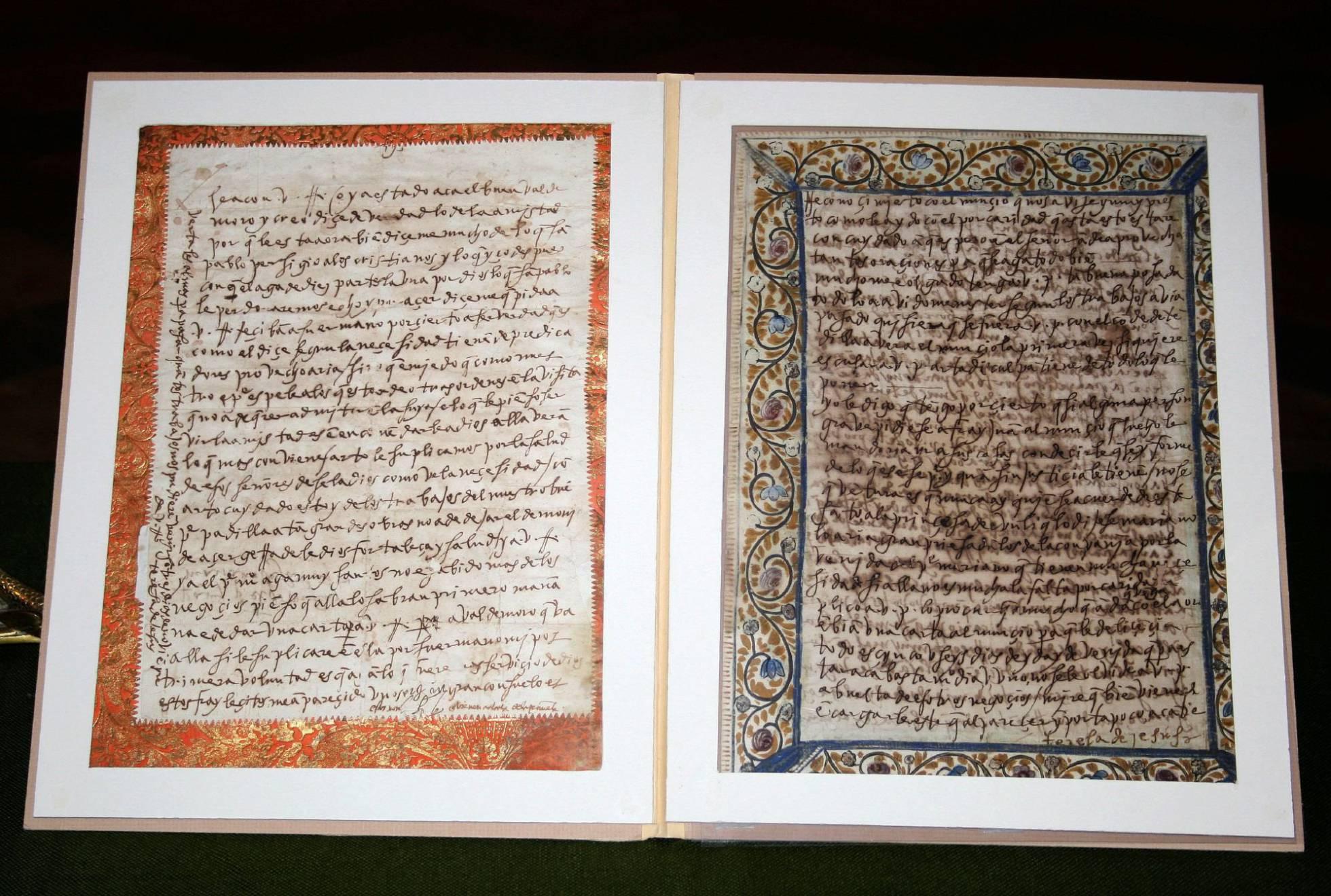 Halladas unas cartas manuscritas de Santa Teresa a su 'otro' amor (elpais.com)