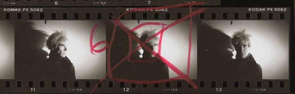 Andy Warhol y su sombra