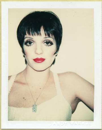 Liza Minnelli fotografiada por Andy Warhol en 1977