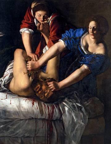 El cuadro 'Judith que decapita Holoferne' (1611), Artemisia Gentileschi.